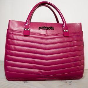 Woman's Handbag Wine Color